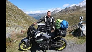 THE ALPS MOTORCYCLE TOUR 2017!