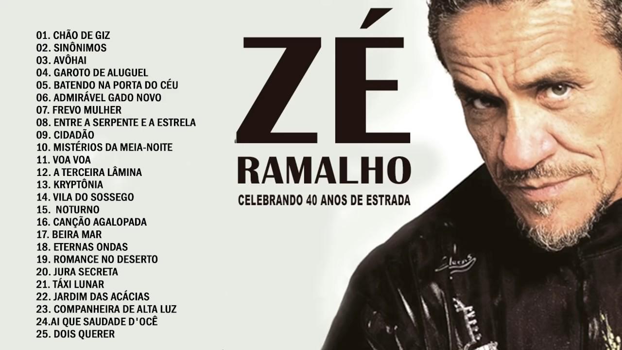 ZÉ RAMALHO AS 20 MELHORES SÓ SUCESSO - ze ramalho - YouTube