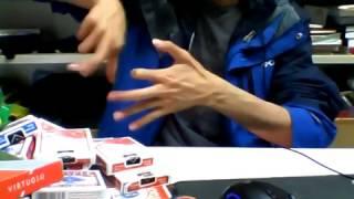 Фокусы с пальцами.