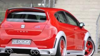 JE DESIGN Facelifts Seat Leon into a Sports Car Videos