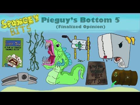SpongeBob Season 7 Finalized Bottom 5
