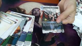IKI Card Shop: Unboxing FF Opus 1 Booster Box, SINGLES FOR SALE