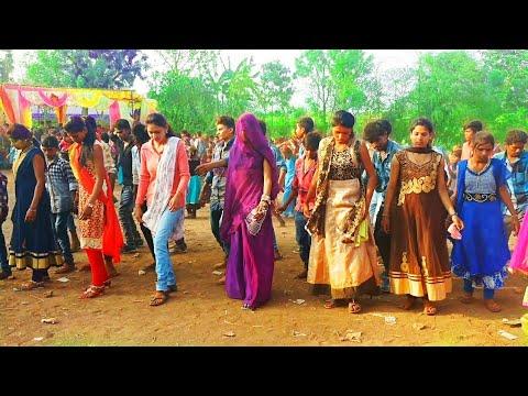 नानी तारो रातलो घाघरो //Nani Taro Ratlo Ghagro Ratlo //Beautiful Adiwasi Girls Dance //Raju Mandloi