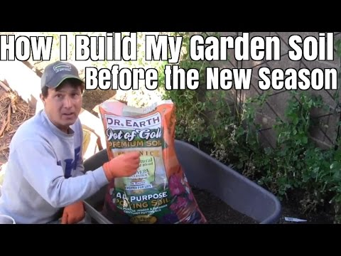 How I Build My Raised Bed Garden Soil Before the New Planting Season