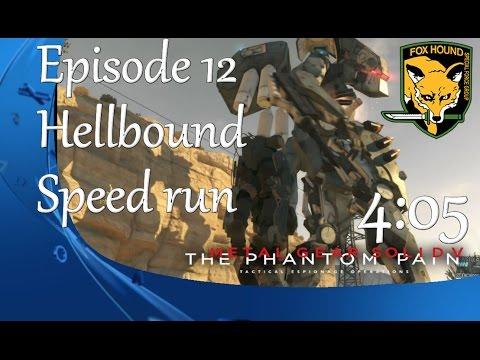 【MGSV:TPP】Ep 12 (Hellbound Ver 1) 4m05s Foxhound