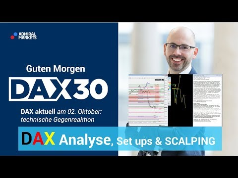 DAX aktuell: Analyse, Trading-Ideen & Scalping | DAX 30 | CFD Trading | DAX Analyse | 02.10.19