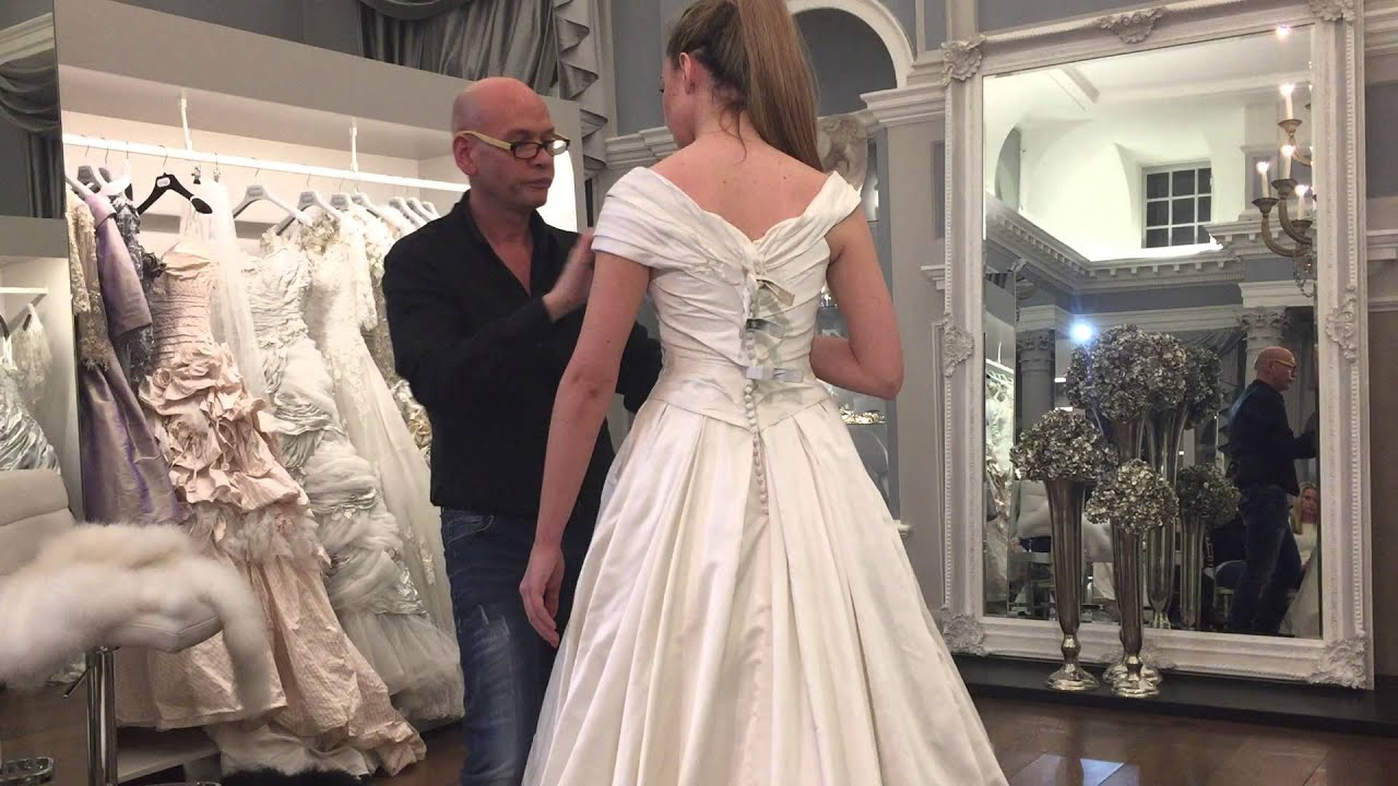 Ian Stuart Bridal Dress Alterations - YouTube