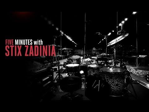 Wembley Music Centre Presents: Five Minutes with Stix Zadinia