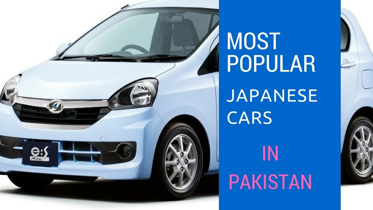 Top Japanese Cars In Pakistan Imported Cars In Pakistan Toyota