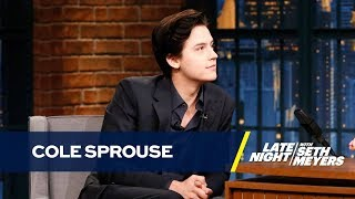 Cole Sprouse Recites Creepy Poetry He Wrote As a Child