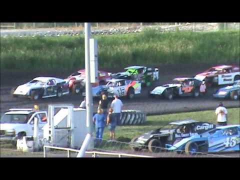 Adams County Speedway Tony Rost Sport Mod Heat 6/18/11