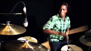 Drums - Fred Boswell Jr. Plays Classic Funk Groove @ GospelChops.com (SSV3)