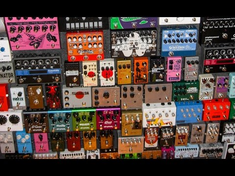 BEST DISTORTION PEDALS - TOP 10 - GUITAR EFFECTS SHOOTOUT