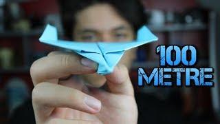 100 Metreye Kadar Uçabilen Kağıttan Uçak Yapımı / Nasıl Yapılır ?