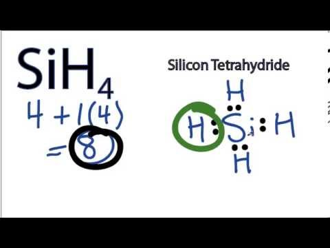 SiH4 Lewis Structure - How to Draw the Lewis Structure for ... H2co Lewis Structure