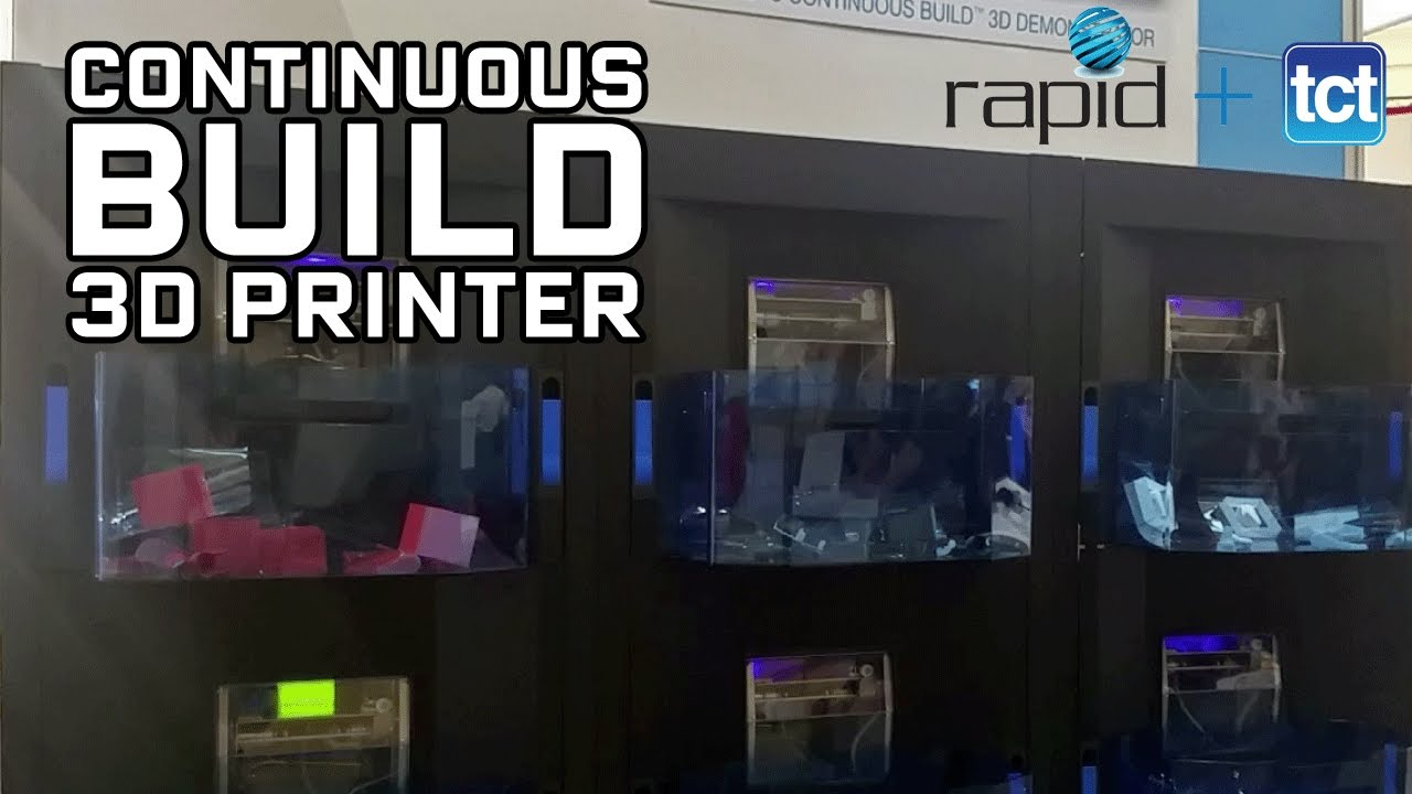 Continuous build 3D printing from Stratasys at RAPID + TCT