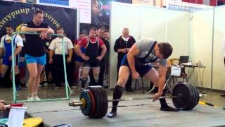 Становая тяга 317.5, мировой рекорд