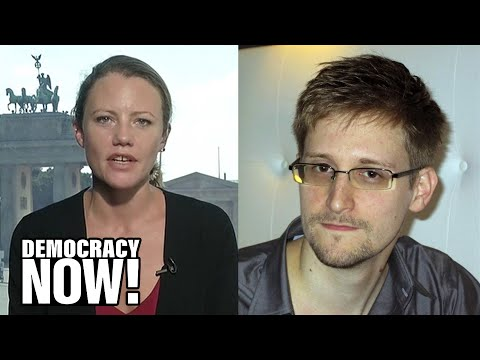 Obama's War on Whistleblowers Forced Edward Snowden to Release Documents, Says Wikileaks Editor