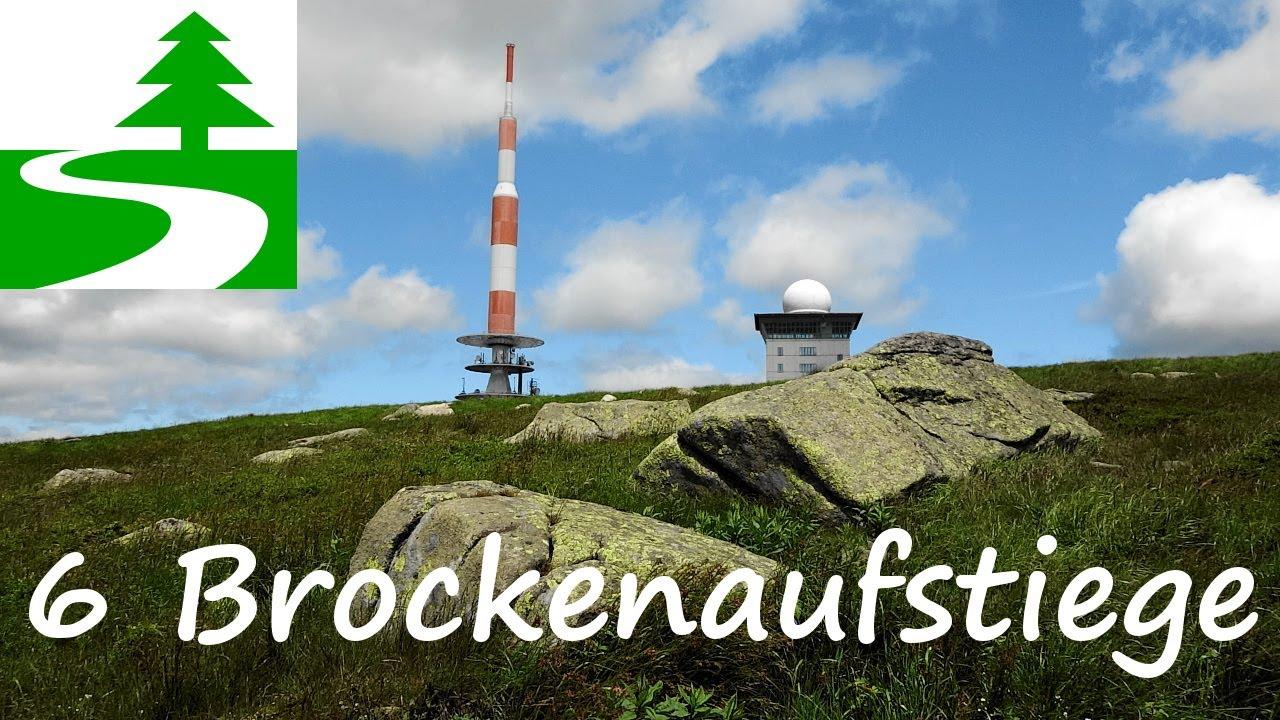 Wandern im Harz - 6 Aufstiege zum Brocken - YouTube