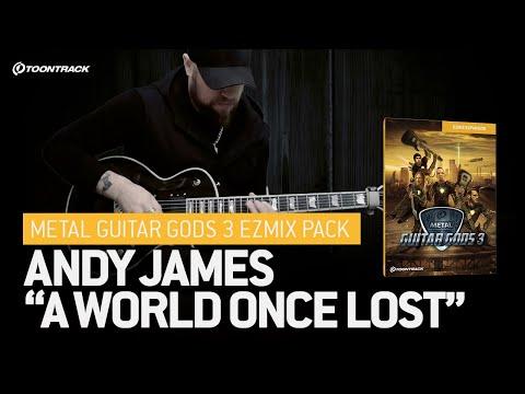 Andy James playthrough - Metal Guitar Gods 3 EZmix Pack