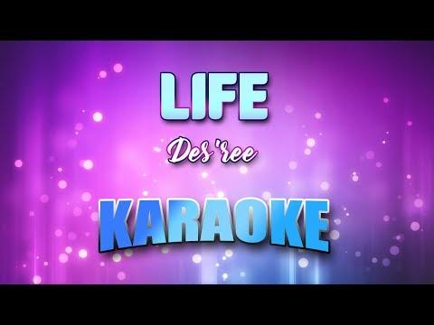 Des'ree - Life (Karaoke version with Lyrics)