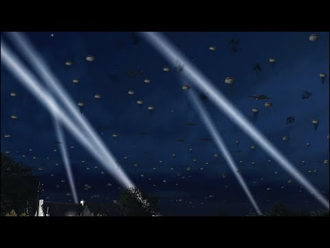 D-DAY EPIC LANDING IN NORMANDY - PARATROOPERS