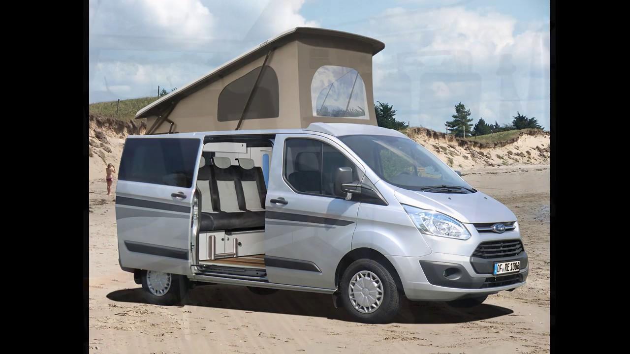 Campingbus Reimo Ford Transit Custom Triostyle Youtube