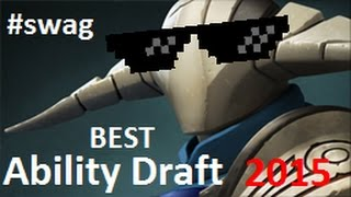 Best Ability Draft 1v5 DotA 2 2015 - Alchemist Ulti + Dragon Blood