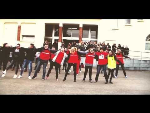 FLASH MOB - TAGTRAEUMER - Lycée Anatole France - HD