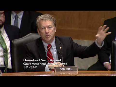 Rand Paul Questions Mick Mulvaney on National Debt and Debt Ceilings