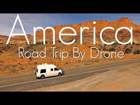 Drone Video Across America – Featured Creator Dave Tebbutt