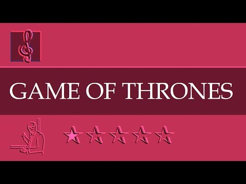 Chromatic Harmonica and Tremolo Notes Tutorial - Game of Thrones - Theme (Sheet music)