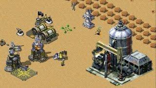 Oil Derrick in center map with friends online multiplayer CnCNet Red Alert 2 Yuri's Revenge