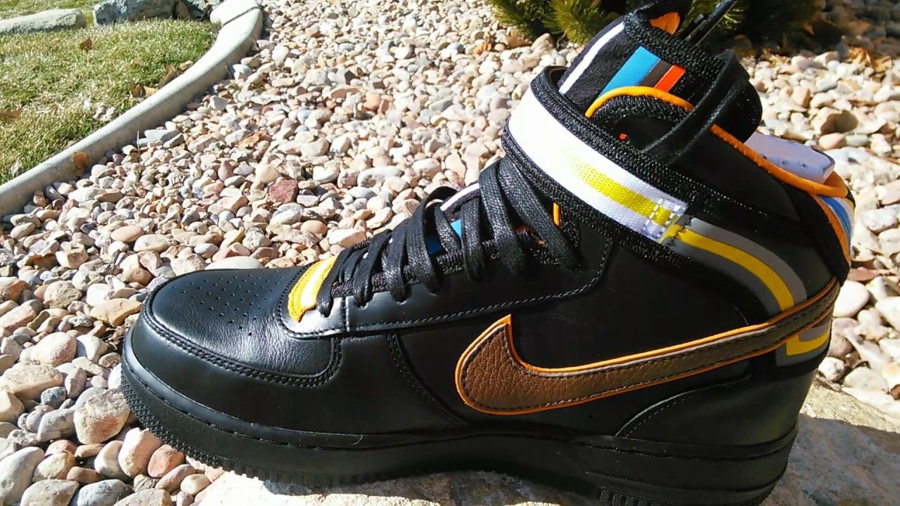 NIKE AIR FORCE 1 RICCARDO TISCI MID BLACK