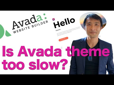 Download Is Avada theme too slow? See what happened when I changed from Avada to Hello theme