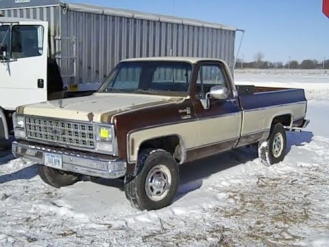 1980 Chevy C30 Pickup With 73 800 Miles Youtube