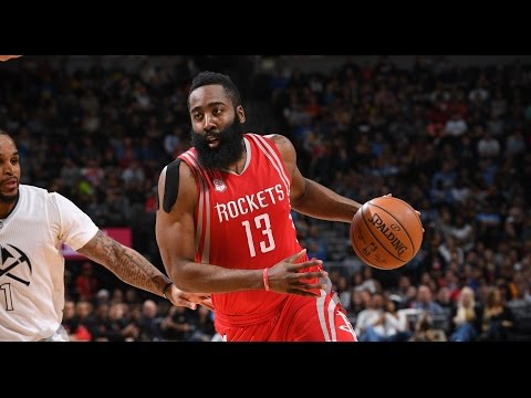 James Harden Notches Another 40 Point Triple-Double in Denver! | March 18, 2017