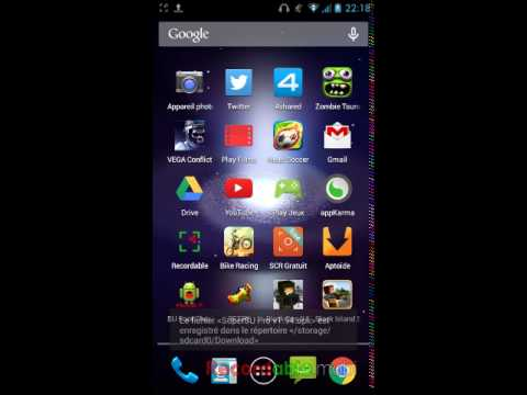 Comment rooter un Android!!! Startrail5 Inclus - YouTube