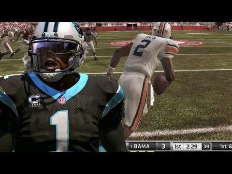 CAM NEWTON THROUGH THE YEARS - NCAA FOOTBALL 08 - MADDEN 17