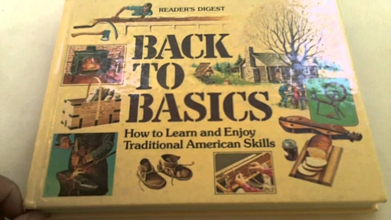 Homestead Books: Readers Digest Back To Basics