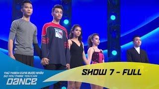 Lucie Ngọc, Tuấn Anh bị loại đầy tiếc nuối - Show 7 full - Thử Thách Cùng Bước Nhảy 2016