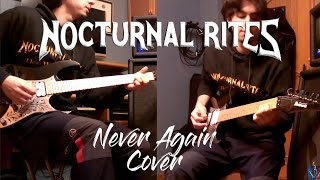 Nocturnal Rites ~ Never Again ~ Guitar Cover