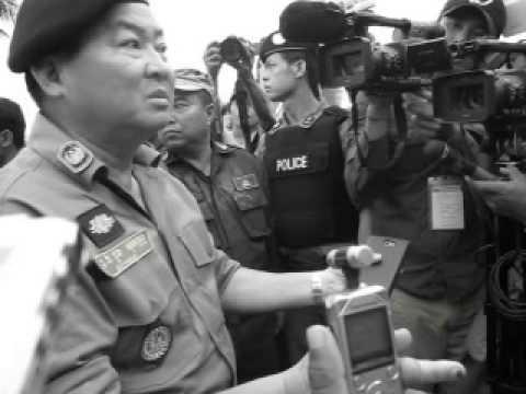 Demonstration CNRP Phnom Penh, Cambodia / Cambodge