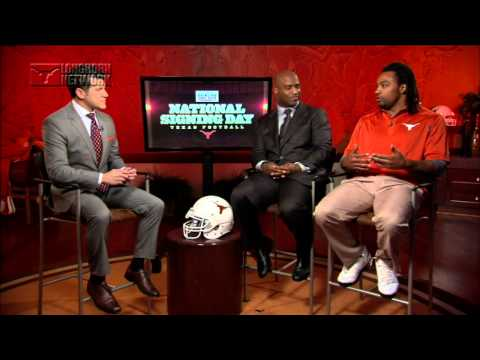 Cedric Benson on National Signing Day [Feb. 5, 2014]