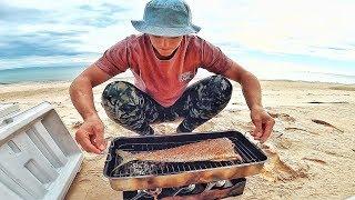 Smoked MAHI Recipe on Beach & Snorkelling Epic Shipwreck!