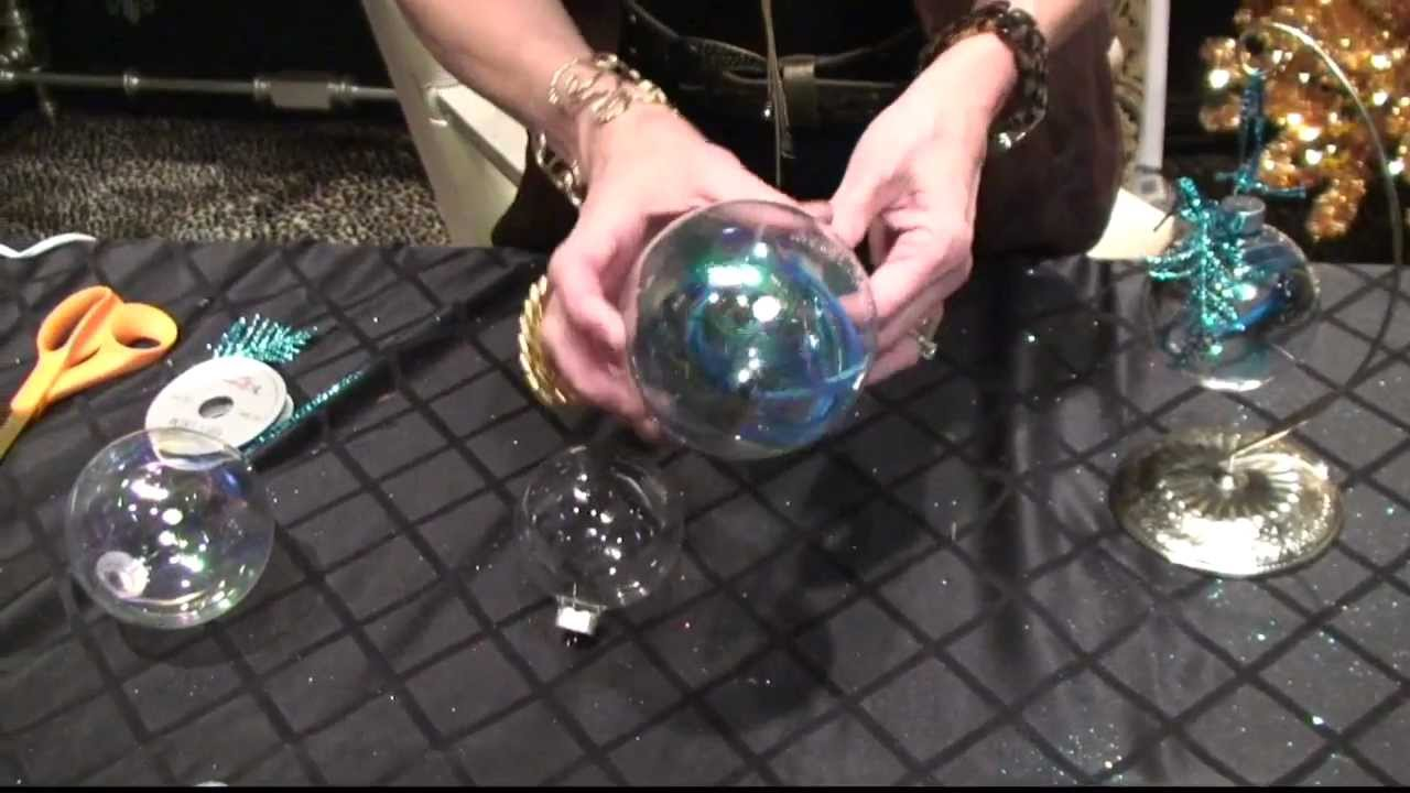 Donna Decorates Dallas How To Diy Peacock Christmas Ornaments By Donna Moss Donna