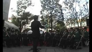 高松中学校吹奏楽部 秋の桃太郎まつり2010