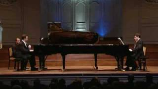 4 Brahms Sonata for two pianos Op 34b 4th mvt D