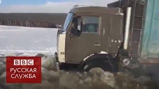 Ледяные дороги Якутии: как доставляют продукты в отдаленные деревни?