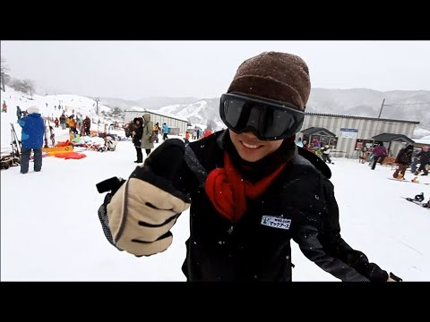 WE WENT SKIING WITH OBACHAN IN OSAKA JAPAN